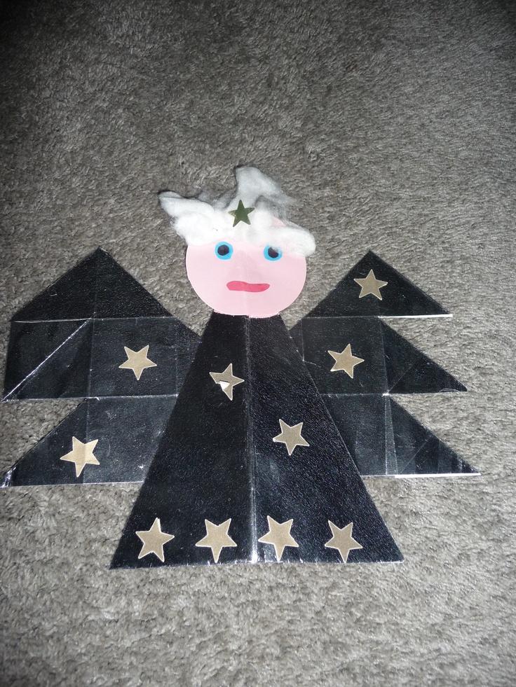MAP juf Ineke: kerst - Engel