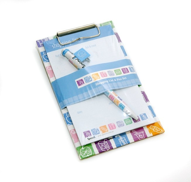 Magnetic Shopping List and Pen Set
