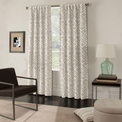 Colorado Window Curtain Panel - BedBathandBeyond.com; $39.99; good for hiding my furnace in the laundry room.