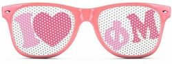 Phi Mu Wayfarer Style Lens Sunglasses SALE $12.95. - Greek Clothing and Merchandise - Greek Gear®