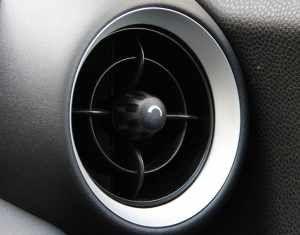Frischluftdüse - elementarer Teil jeder Klimaanlage.