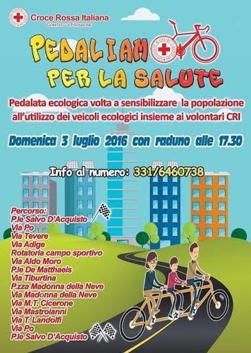 Lazio: #Frosinone domenica 3 #pedalata per la salute con la Croce Rossa Italiana (link: http://ift.tt/28Vhb45 )