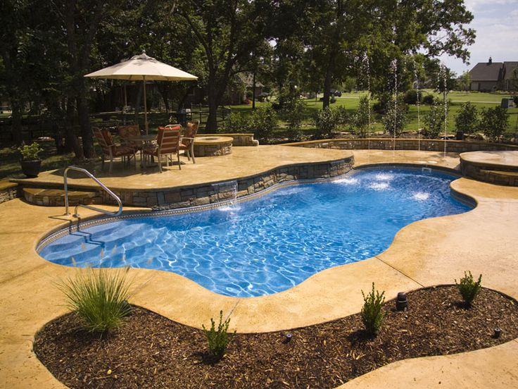 26 Best Fiberglass In Ground Pools Images On Pinterest Fiberglass Pools Fiberglass Swimming