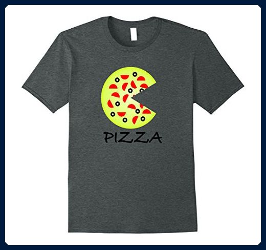 Mens Pizza & Slice Father Mother Son Daughter Matching T-Shirts Large Dark Heather - Relatives and family shirts (*Amazon Partner-Link)
