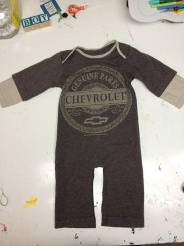 DIY Baby Romper : DIY Baby Romper