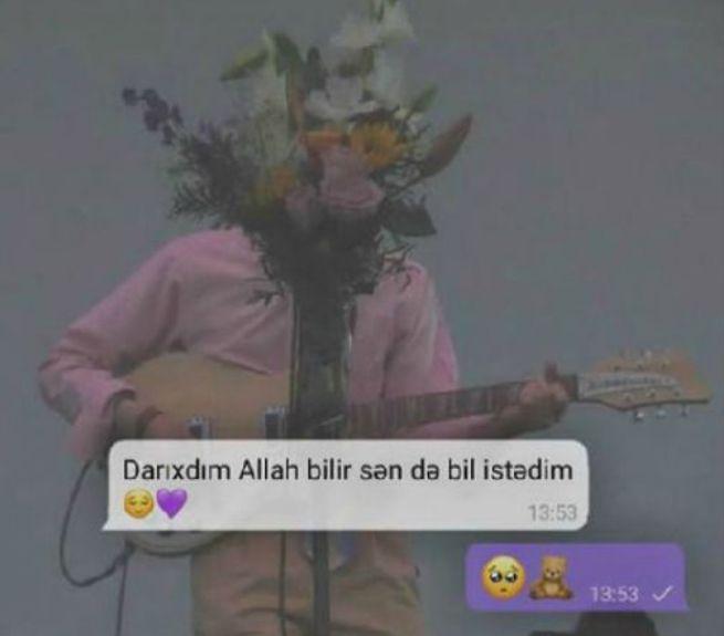 Darixdim Allah Bilir Səndə Bil Istədim San Allah Pandora Screenshot