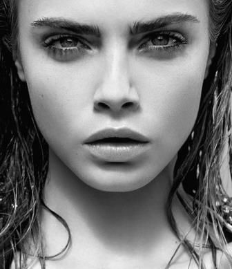 Cara Delevingne ♥ no make up, makeup