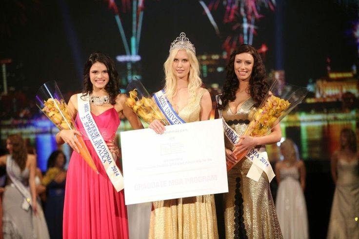Urška Bračko Crowned Miss Universe Slovenia 2014