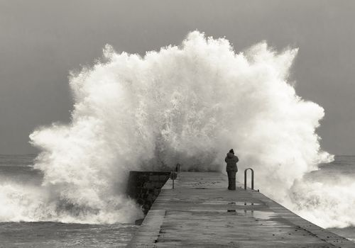 The awesome power of the sea!