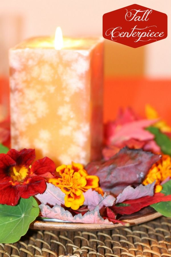 Easy Fall Centerpiece - The Best of this Life
