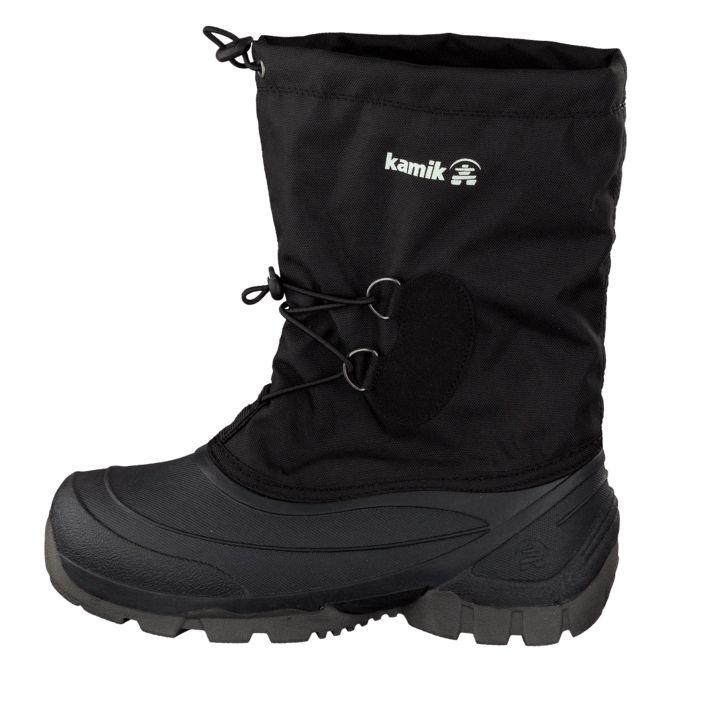 Kjøp Kamik Southpole2 Black Svarte sko | Varmforet boots for Barn ✓ Fri frakt ✓ Fri retur ✓ Rask levering. Prisgaranti!