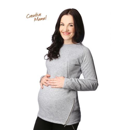 Свитшот 3 в 1 для беременных и кормящих мам - Grigio🌻  698 грн.  Для того, чтобы изделия хорошо на вас «сели» - при заказе укажите ваши замеры: объём груди, талии или живота, бёдер, рост и положение.   Отшив: 2-3 дня. 🚗🚛🚗Доставка: 1-2 дня (Новая почта). *бесплатная доставка Новой почтой (при заказе от 500 гривен и оплате на карту). Оплата: на карту приватбанка.   Чтобы сделать заказ - напишите в комментариях.   Больше вещей для беременных и кормящих мам в интернет-магазине по…