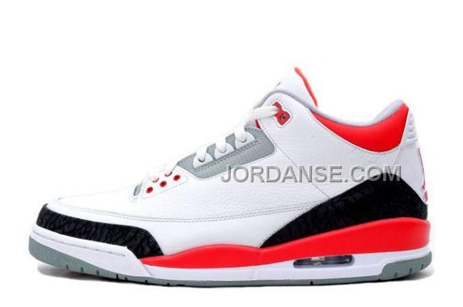 http://www.jordanse.com/air-jd-3-retro-white-fire-redcement-grey-online-for-sale-new-release.html AIR JD 3 RETRO WHITE/FIRE RED-CEMENT GREY ONLINE FOR SALE NEW RELEASE Only 79.00€ , Free Shipping!