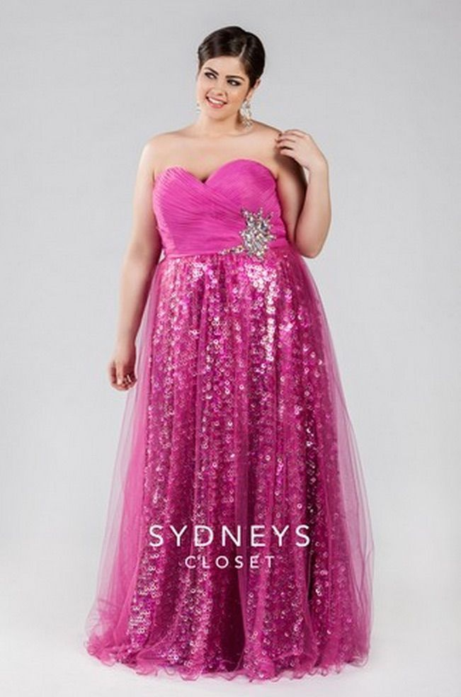 The 104 best Plus size Prom Dresses images on Pinterest   Prom ...