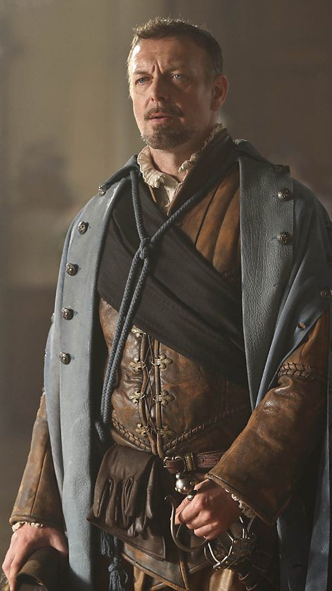 The Musketeers - New series II profiles via BBCOne: Captain Treville