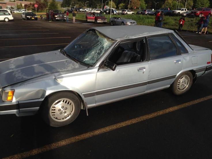 Rare suspected tornado picks up car in Eugene, Oregon community college parking lot -- Earth Changes -- Sott.net