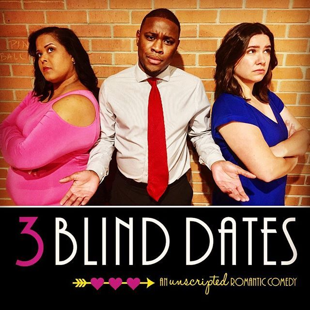 Hello February! With Valentine's Day around the corner that means it's time for another edition of 3 Blind Dates - everyone's favorite unscripted romantic comedy! So who will go out with whom? YOU get to make that decision on February 10th @corazoncinemaandcafe For info  tix visit http://ift.tt/2dt42f0 . . . #improv #romcom #romanticcomedy #unscripted #valentinesday #datenight #speeddating #galentinesday #improvcomedy #improvtheatre #blinddate #speeddating #StAugustine #stalocal…