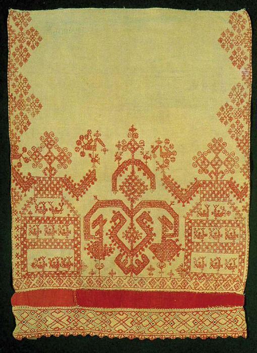 древо жизни и славянская вышивка