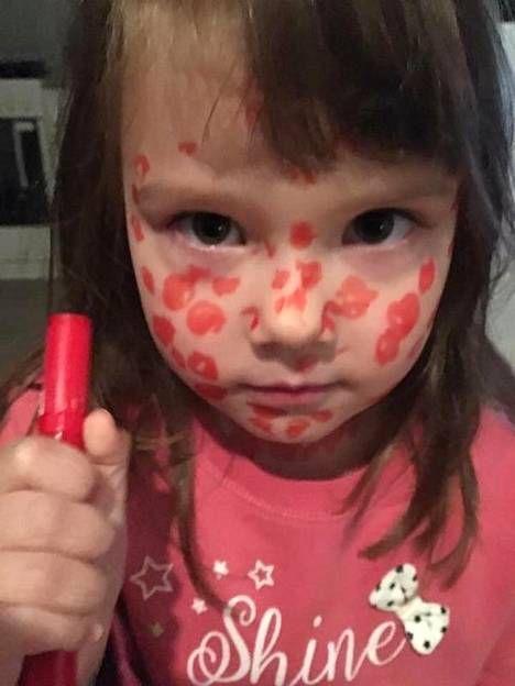 Aina ei huvita: 5-vuotias Elli piirsi itselleen vesirokon saadakseen vapaapäivän tarhasta - Perhe - Ilta-Sanomat