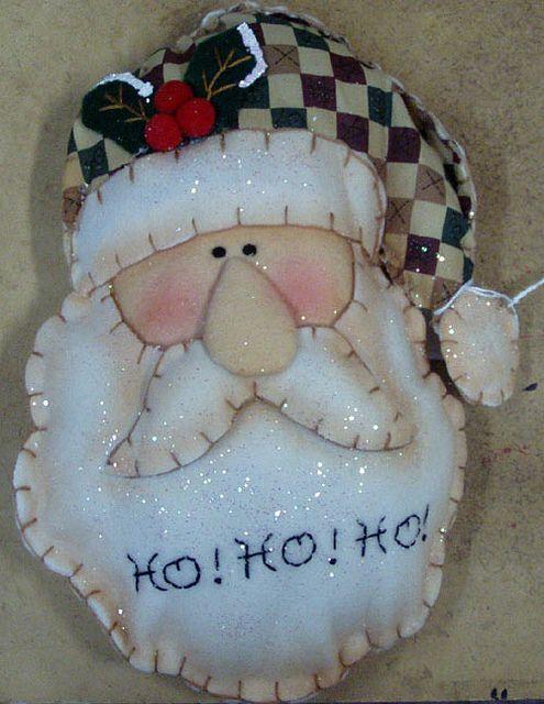 Santa from felt