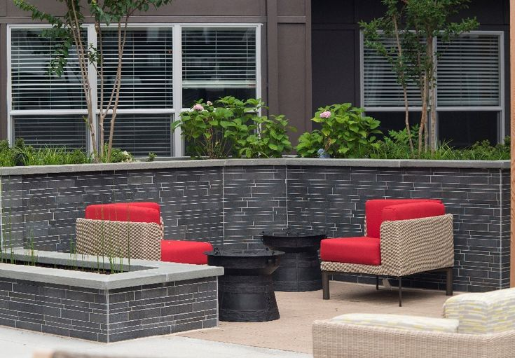 Norstone Ebony Basalt IL Tiles by Norstone residential common area