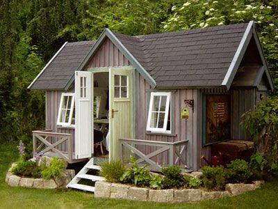 terrasse und garten im skandinavischen stil gartenhaus im skandinavischen stil wohnen. Black Bedroom Furniture Sets. Home Design Ideas