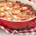 Summer Squash and Tomato Casserole