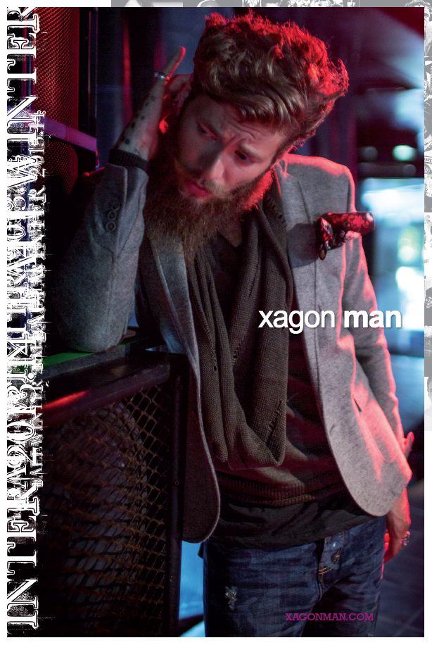 ADV Xagon Man FW 13/14 model Andrea Marcaccini @iLove Photo Chico De Luigi