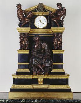 Denière Bronze Factory (c. 1797-1903) Mantel Clock second half eighteenth century