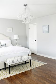 Gorgeous Gray And White Bedroom! Wish I Could Have That But My Little Ones (