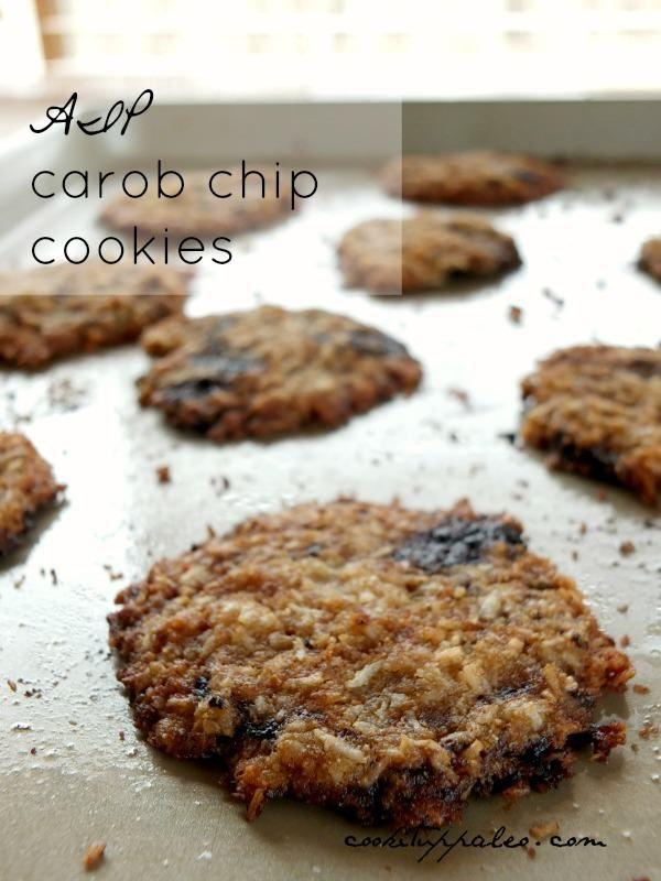 Carob Chip Coconut Cookies (AIP)