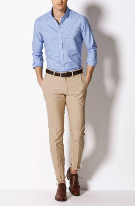 Camisas, pantalones y zapatos de hombre en las rebajas de Massimo Dutti
