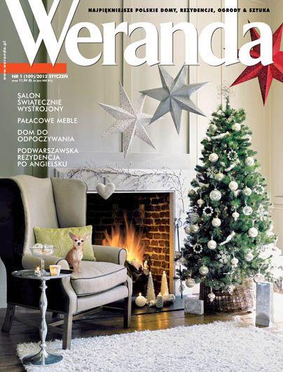 Okładka magazynu Weranda 1/2012 www.weranda.pl