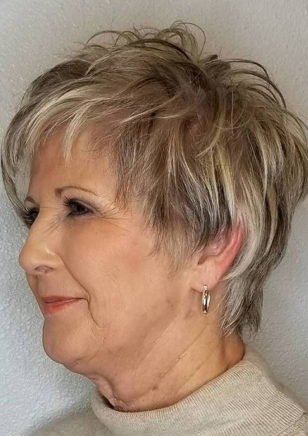 Hairstyles And Haircuts For Older Women In 2020 In 2020 Short Hair Older Women Older Women Hairstyles Short Blonde Hair