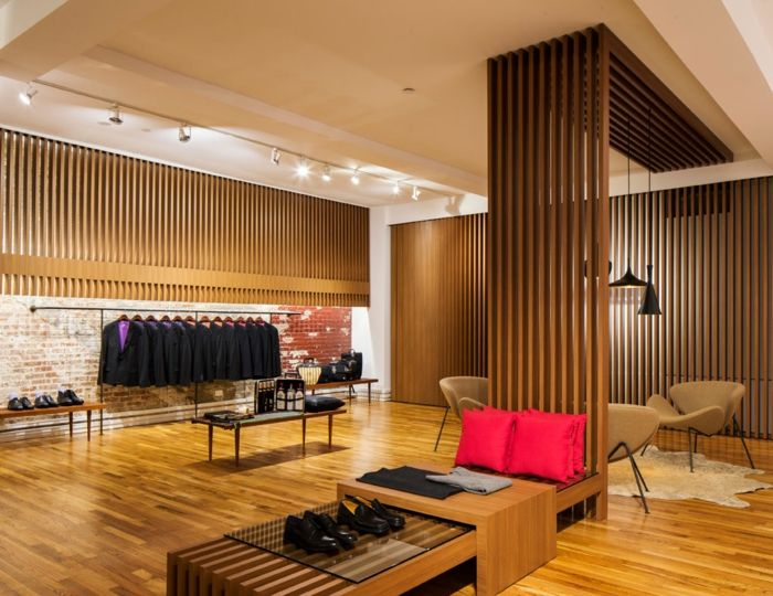Holzpaneele Holzwand Kreative Wandgestaltung Holzverkleidung Innen Deko Ideen Kaufhaus