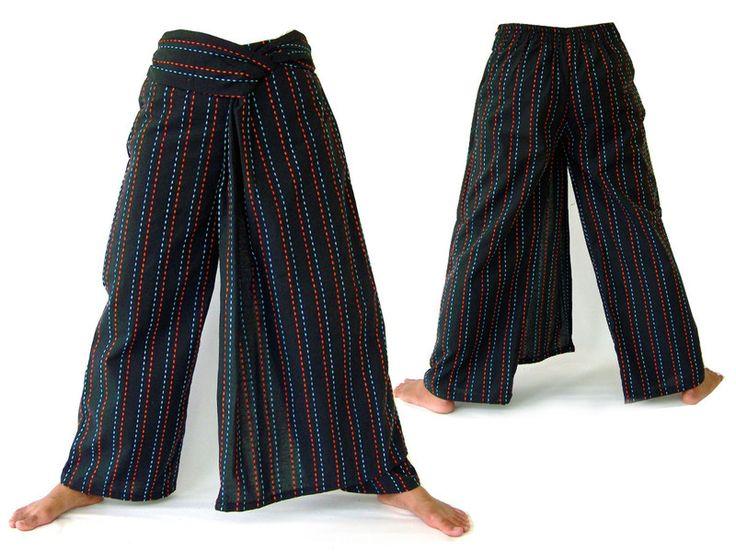 Hippie Broek, etnische broek, broekrok van Siamrose Art & Decor op DaWanda.com