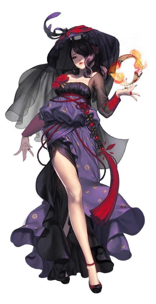 Girl illustration fantasy digital art