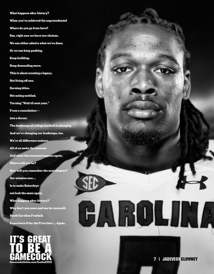 Jadeveon Clowney - 2011 SEC Freshman of the Year & Freshman All-American - What will he do in 2012?? It's Great to be a Gamecock!