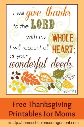 Thanksgiving Day is coming fast! Time to slow down and focus on the things we are thankful for as moms. Being grounded in the scriptures and counting our b