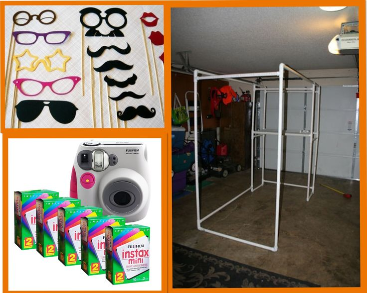 diy photo booth with polaroid camera my wedding ideas pinterest. Black Bedroom Furniture Sets. Home Design Ideas