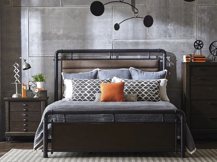 ... Lawrence   The Fulton Street Bedroom Collection By Samuel Lawrence  Furniture Exhibits An Air Of Hand Craftsmanship With An Edge Of Industrial  Chic. Part 65