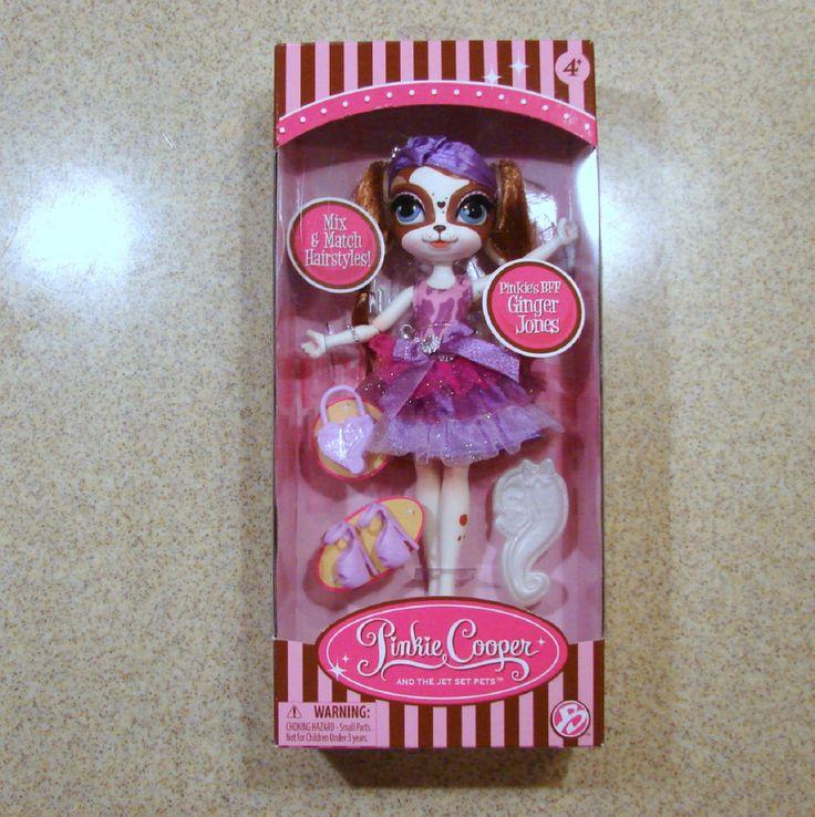 Pinkie Cooper Runway Collection Dog Doll Ginger Jones Headband Target Version - eBay Free US Shipping