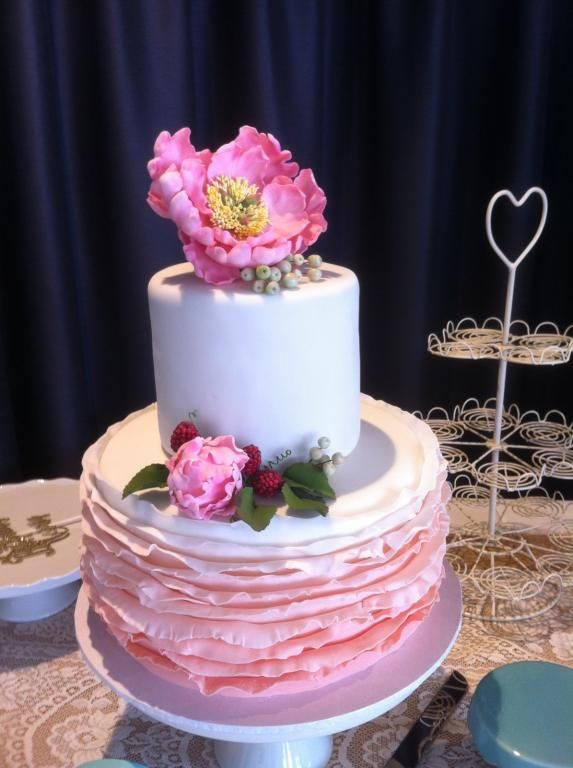 Spectacular hand crafted cake