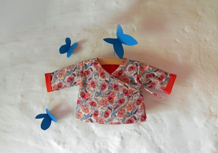 Tuto couture cache coeur brassi re r versible pour b b - Tuto chausson bebe couture ...