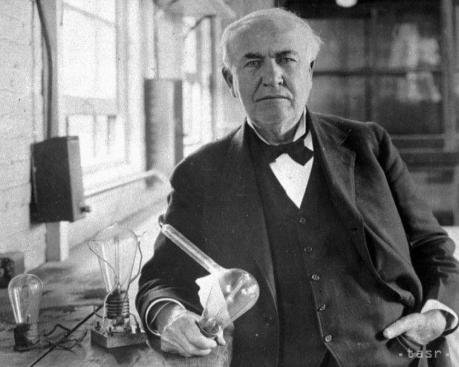 Thomas Alva Edison dal svetu použiteľnú žiarovku - Zaujímavosti - SkolskyServis.TERAZ.sk