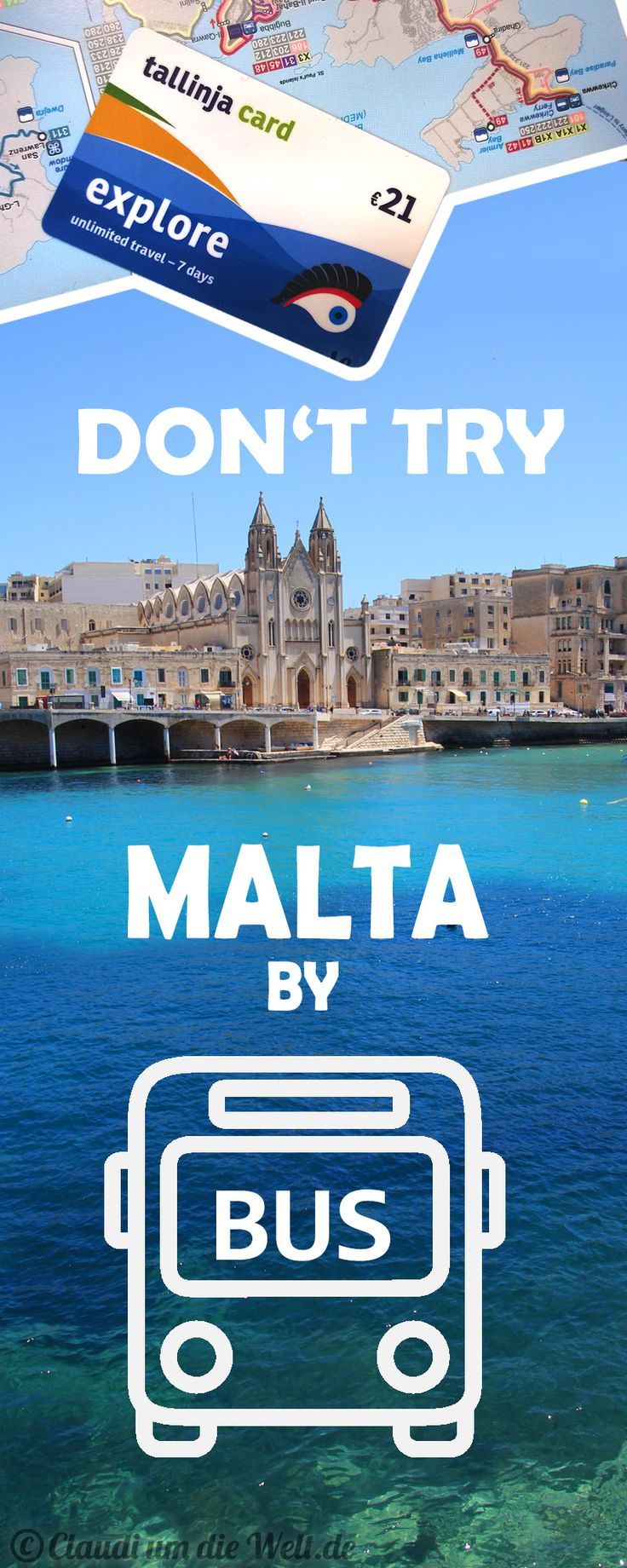 Whatever they tell you: Don't take the Bus in Malta! This is my story, how I never got to the Blue Grotto - because of the Maltesean Bus System