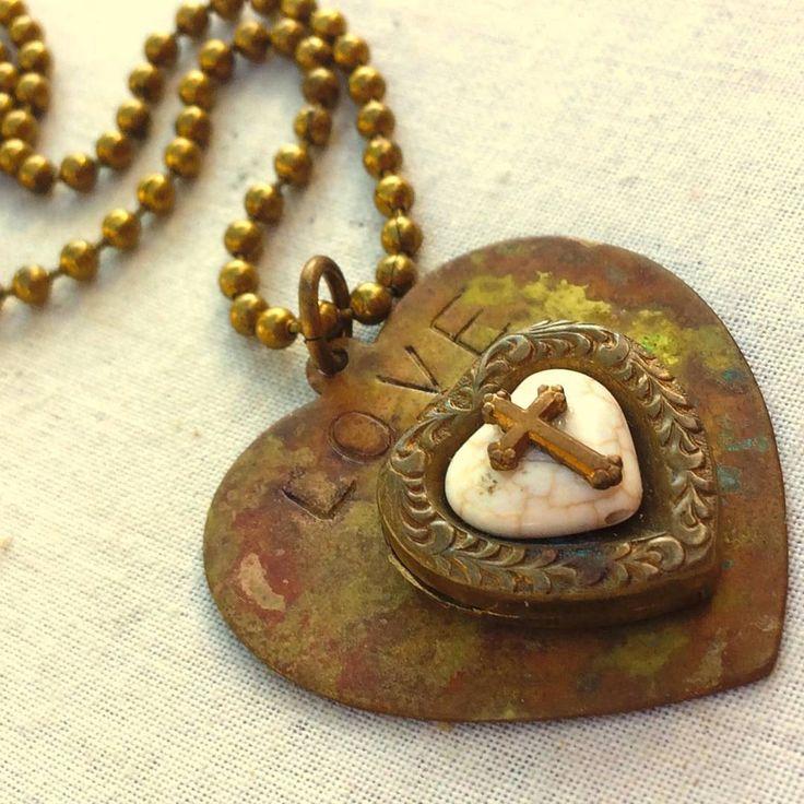 "10 Likes, 1 Comments - Nostalgems (@nostalgems) on Instagram: ""We love rusty hearts at#nostalgems #rustorbust #jewellery #jewellerynz #handmadejewellery"""