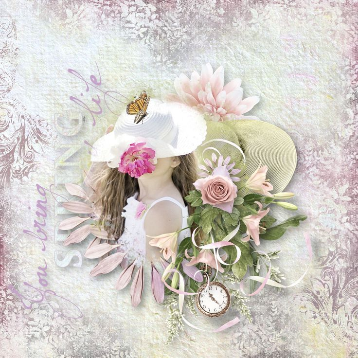 """""""Miss Spring"""" by Doudou's Design, https://www.digiscrapbooking.ch/shop/index.php?main_page=product_info&cPath=22_236&products_id=25908&mc_cid=668778877f&mc_eid=0d2514e953, photo Jill111, Pixabay"""
