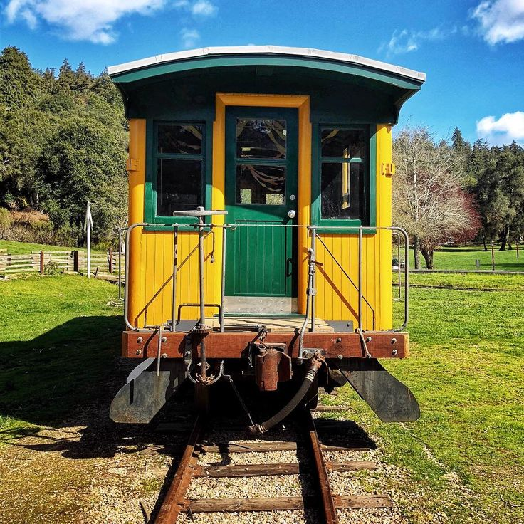 Caboose door by dergrafiker --Roaring Camp Railroads
