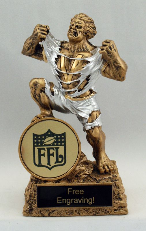 Victory Fantasy Football Trophy | Speedy Trophies